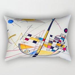Kandinsky Delicate Tension Rectangular Pillow