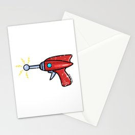 Ray Gun Stationery Cards