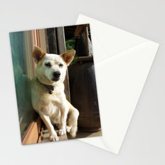 sleepy dog Stationery Cards