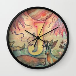 'J' is for... Wall Clock