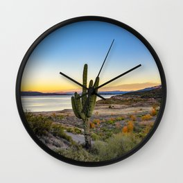 Cactus United States Wall Clock