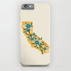 The Golden State of Flowers Slim Case iPhone 6s