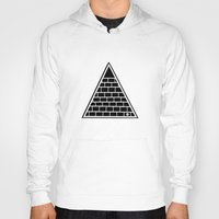 triangle Hoodies featuring Triangle by Emmanuelle Ly