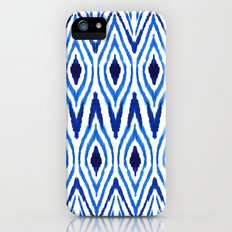 Ikat Blue Slim Case iPhone (5, 5s)