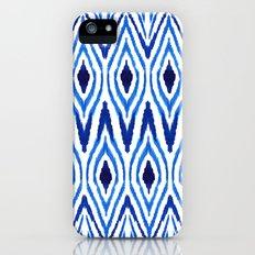 Ikat Blue iPhone (5, 5s) Slim Case