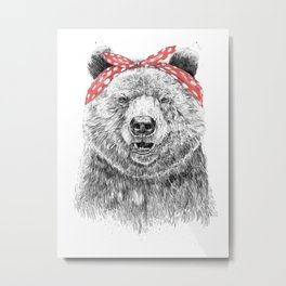 Break the rules (without text) Metal Print