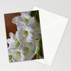Fresh Gladioli  Stationery Cards