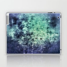 Deep Dark Blue Abyss Abstract #LostPainting Laptop & iPad Skin