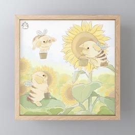 Bunblebees Framed Mini Art Print