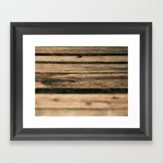 Look Further Framed Art Print