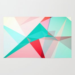 FRACTION - Abstract Graphic Iphone Case Rug