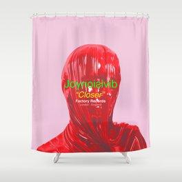 "Joy Division ""Closer"" Shower Curtain"
