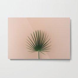 Perfect palm Metal Print