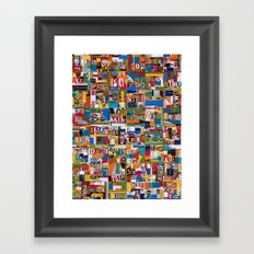 Beer by any Name Framed Art Print