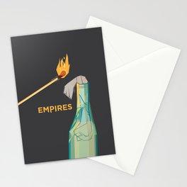 Empires Molotov Cocktail Print - ORIGINAL TEXT Stationery Cards