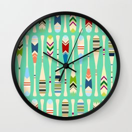 Meet Me at the Lake Wall Clock