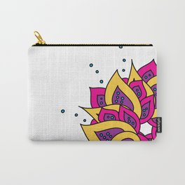Lotus Mandala Carry-All Pouch