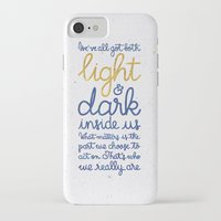 snape iPhone & iPod Cases featuring Light and dark inside us by Earthlightened