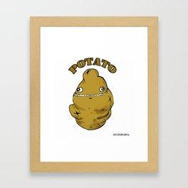 POTATO  Framed Art Print