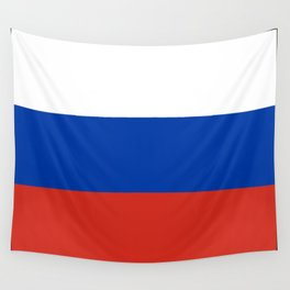 Flag of russia Wall Tapestry