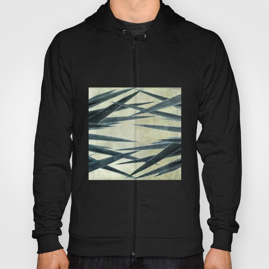 Yucca Leaves Abstract Hoody