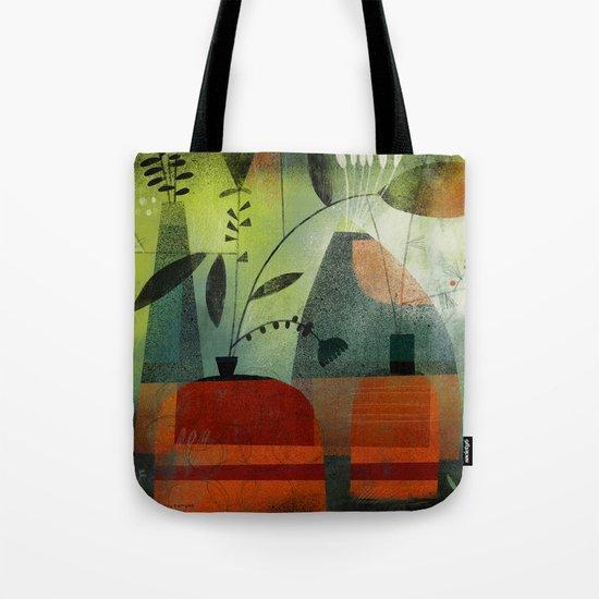 LAYERED VASES Tote Bag