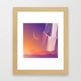 Climber Framed Art Print