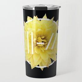 Trench Yellow Flower Travel Mug