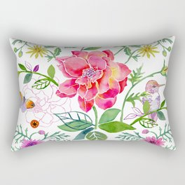 Bowers of Flowers Rectangular Pillow