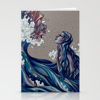siren Stationery Cards featuring Siren by 1 of Many Laurens