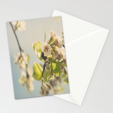 Pear Tree Blossom Stationery Cards