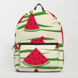 Juicy slices of watermelon Backpack