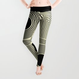 Vintage Indian Tantra Pattern Leggings