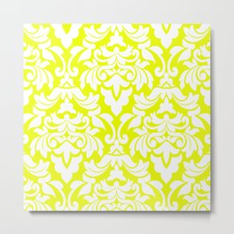 Lemon Fancy Metal Print