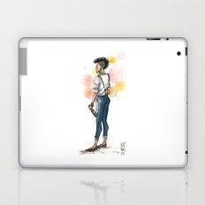 Androgypunk by Kat Mills Laptop & iPad Skin
