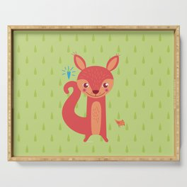 Little Squirrel Serving Tray
