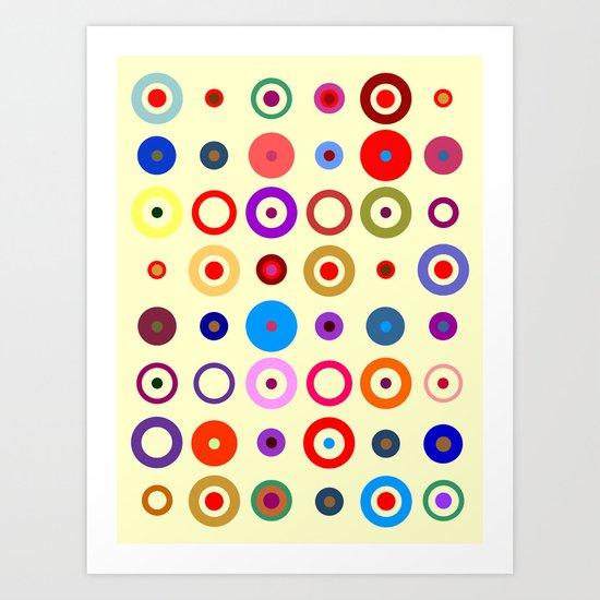 Op Art #7 Art Print