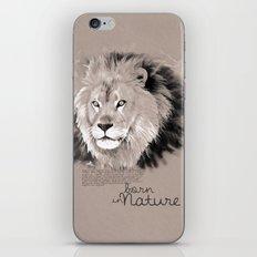 Lion (BornInNature) iPhone Skin