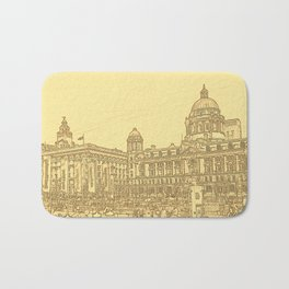 Three Graces (Digital Art) Bath Mat