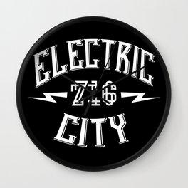 ELECTRIC 716 Wall Clock