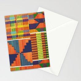 Bright Kente Stationery Cards