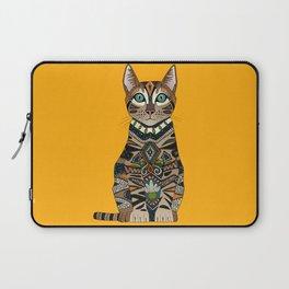 bengal cat saffron Laptop Sleeve