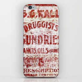 Sundries iPhone Skin