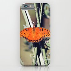 Orange Butterfly iPhone 6s Slim Case