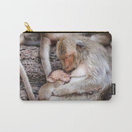 Monkeys of Thailand Carry-All Pouch