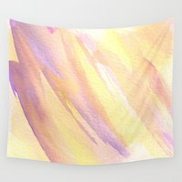 rapunzel Wall Tapestries featuring Rapunzel by Mariam Mihjazi