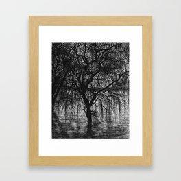 Inktober Tree Framed Art Print