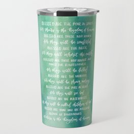 The Beatitudes Travel Mug