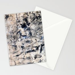 Accumulated Paint 2 Stationery Cards