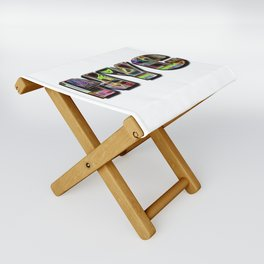 NYC (typography) Folding Stool